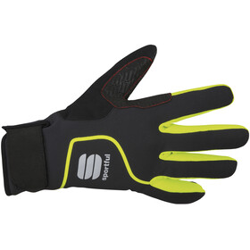Sportful Sotto Zero Gloves black/yellow fluo